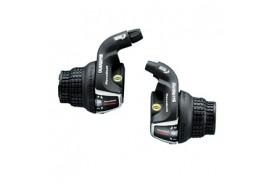 Shimano Manettes Vitesses 3x7 Vitesses SL-RS35 Tourney Avec Cables