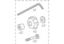 Thule Roulette de serrage RMS