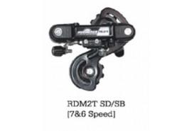 Shimano Dérailleur Arriere 10 Vitesses Noir SGS RD-M615 Deore Shadow+