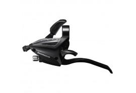 Shimano Manette Vitesses Gauche 3v ST-EF500 Noir