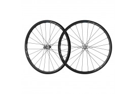 Shimano Paire Roues RS770-C30 10-11v Carb/Al TL Frein Disc Axe Trav