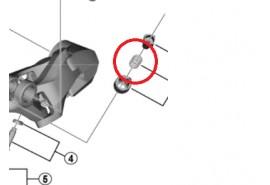 Shimano Vis d'ajustement de câble RD-R7000