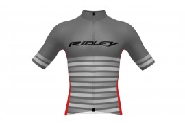 Ridley Maillot R22 Gris/Rouge