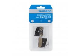Shimano Plaquettes frein  N04C métal avec ailette et ressort