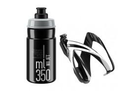 Elite Kit CEO Porte-bidon + Bidon Jet Noir/Blanc