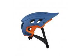 Kenny Casque Scrambler Bleu/Orange