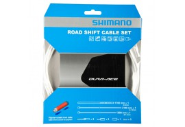 Shimano Kit Cables Gaines Derailleurs Dura Ace Blanc Polymere