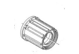 Shimano Corps de cassette FH-M770/M785 9mm
