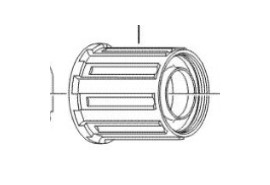 Shimano Corps De Cassette FH-M570