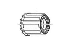 Shimano Corps De Cassette FH-RM30 7-Speed