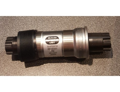 Shimano Boitier De Pédalier ITA 121mm 70mm BB-ES51 Octalink